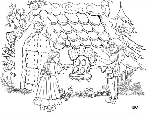 hansel und gretel malvorlagen with images | coloring pages, coloring pages for kids, free