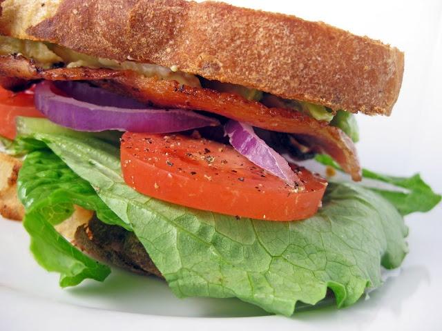 California BLT: Bacon, Lettuce, Avocado & Tomato, Revisited