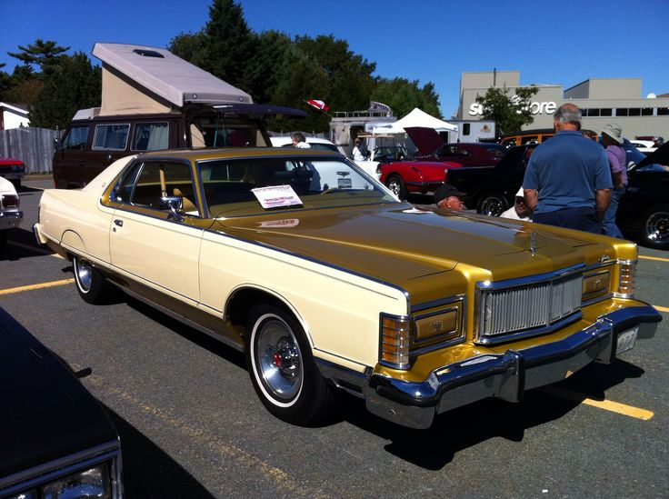 a beautifully preserved 1977 Mercury Grand Marquis in Cream and