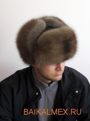 Шапка ушанка зимняя мужская меховая