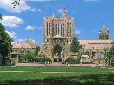 Yale University is an American private Ivy League research university located in New Haven, Connecticut. Founded in 1701 in Saybrook Colony as the Collegiate School, the University is the third-oldest institution of higher education in the United States. In 1718, the school was renamed Yale College in recognition of a gift from Elihu Yale, a governor of the British East India Company. Yale has graduated many notable alumni, including five U.S. Presidents, 19 U.S. Supreme Court Justices.