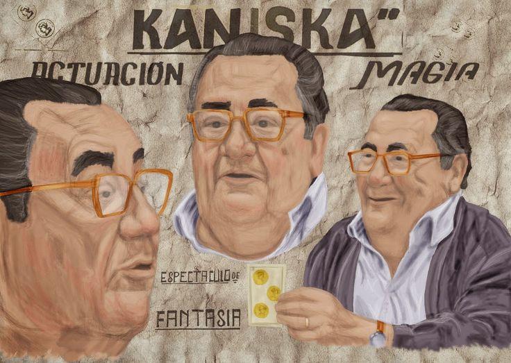 """El blog de """"Acebedo"""": Santiago Jaraba Leal (Kaniska), el prestidigitador..."""