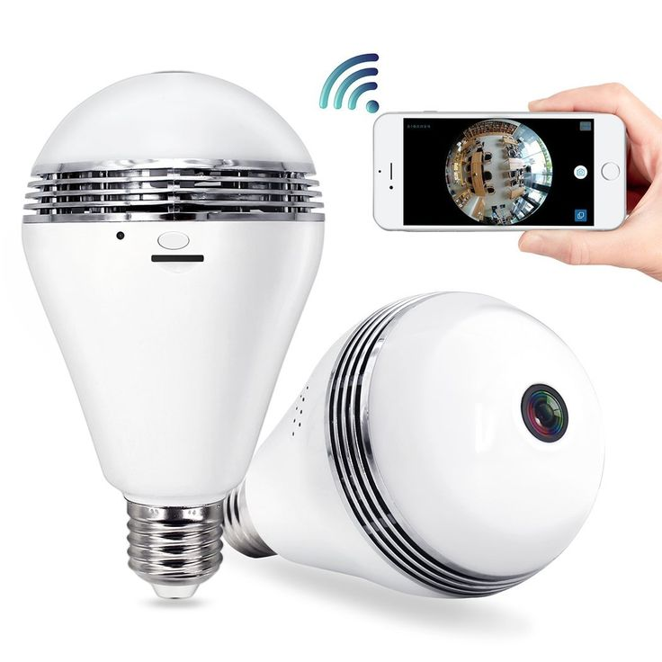 Home security cameras 642 pinterest security camera bulb wifi system tecbillion updated version home security camera light mozeypictures Gallery