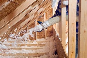 Install Blown-In Insulation