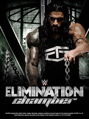 WWE Elimination Chamber 2015 Poster by angelmj06