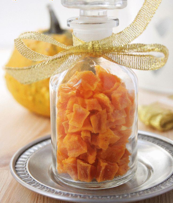 Осенний деликатес — цукаты из тыквы