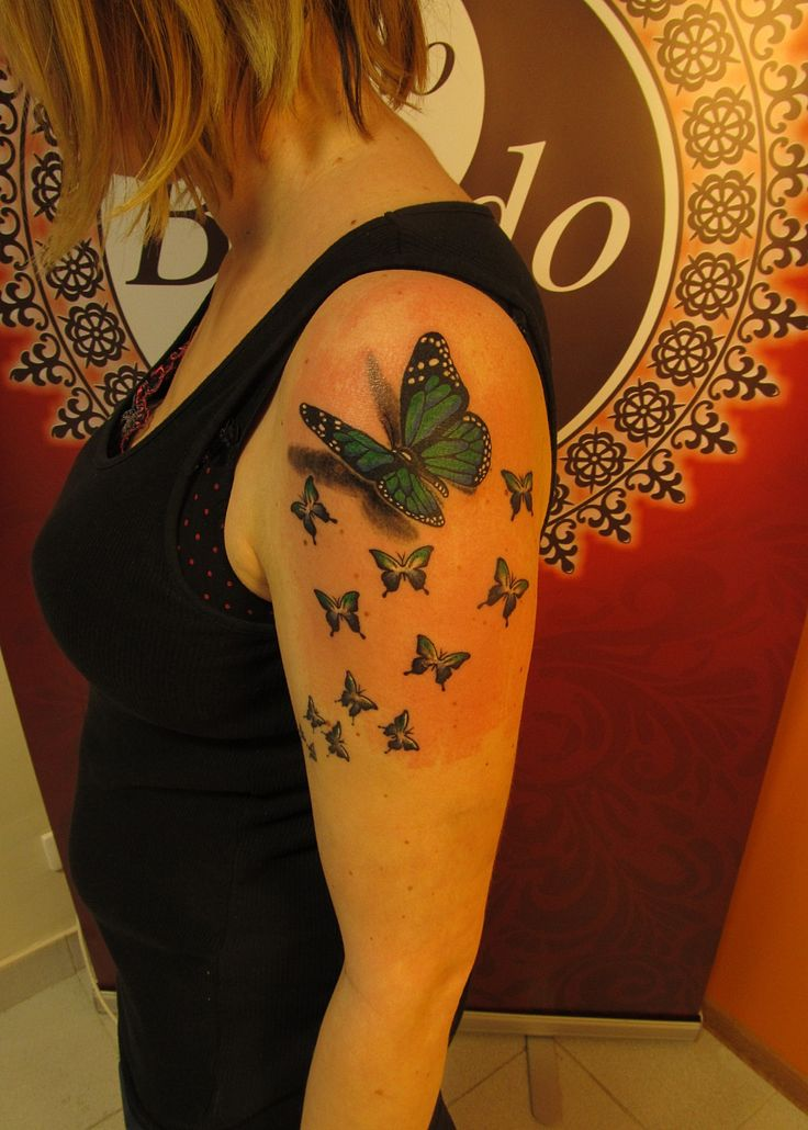 #tattoo #tattooartist #ink #inked #color #colortattoo #butterfly #studio #bardo #studiobardo