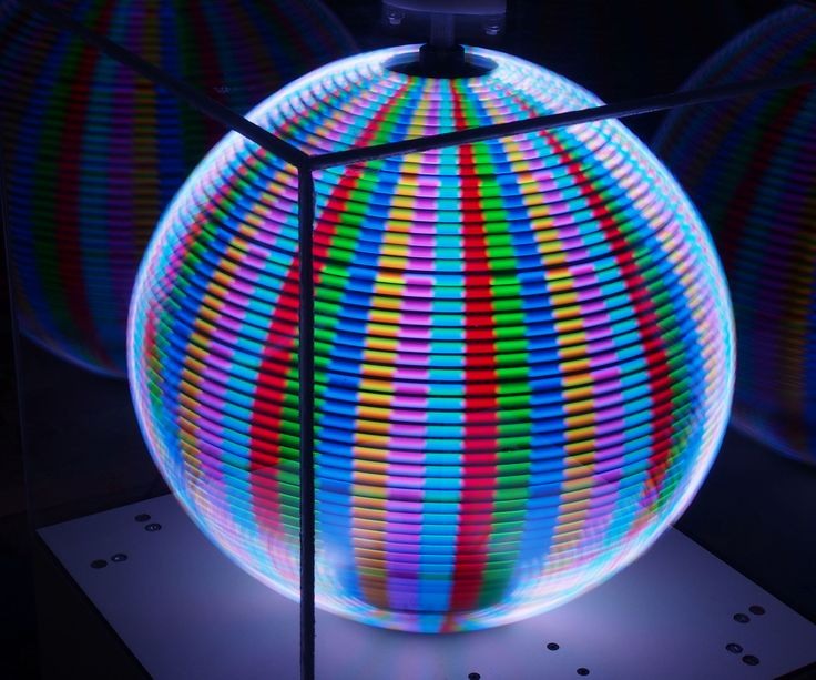 Persistence of Vision Globe, controlled by mobile app and based on Arduino (Atmega1284p)All the code source and schemas are available in Github
