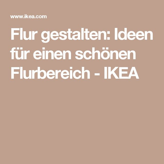 flur gestalten ikea verschiedene ideen f r die raumgestaltung inspiration. Black Bedroom Furniture Sets. Home Design Ideas