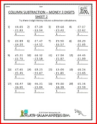 math worksheet : 1000 images about 4th grade math worksheets on pinterest  math  : Money Subtraction Worksheets