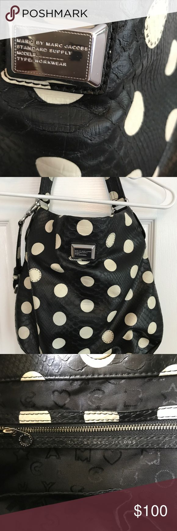 Marc by Marc jacobs hobo bag Beautiful! Great condition. No rips or tears. Lots of room for all of your items.  Detachable shoulder strap Marc By Marc Jacobs Bags Shoulder Bags
