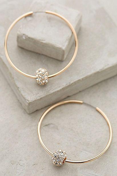 Jeweled Orbit Hoops