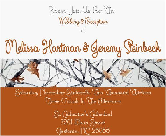 Camouflage Wedding Invitation Kits: Best 25+ Snow Camo Wedding Ideas On Pinterest