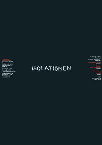 Isolationen / / Ott+Stein 1981