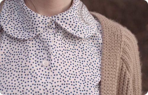 É o que temos...com estilo!: Blusinha retrô