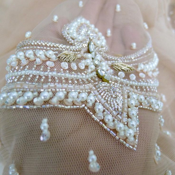 1000 Ideas About Pearl Embroidery On Pinterest