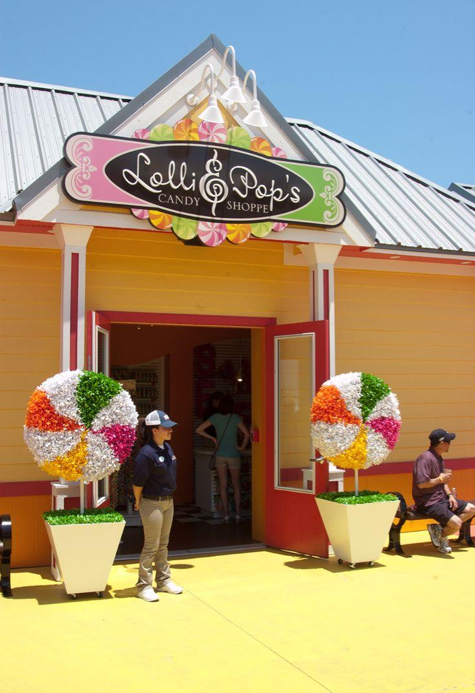 Lolli Pop's Candy Shoppe at the Galveston Island Historic Pleasure Pier
