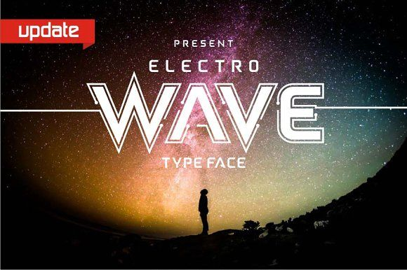Electro Wave by Jamalodin on @creativemarket