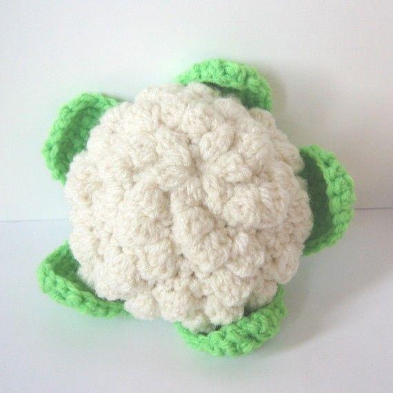 Haak voedsel patroon groenten van CrochetNPlayDesigns op Etsy