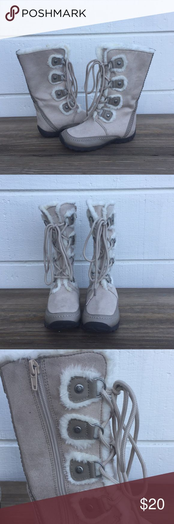 NWOT! Nine West Fur Lined Boots! NWOT!! Nine West fur lined boots. Zips up the side for easy on and off. Laces up front to adjust the fit from ankle up.  Size 11 Nine West Shoes Boots