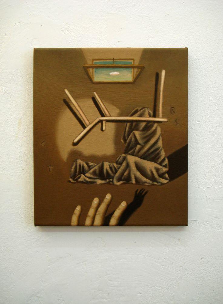 Juan Reos - CTRS - Óleo sobre tela - 37x43cm - 2013