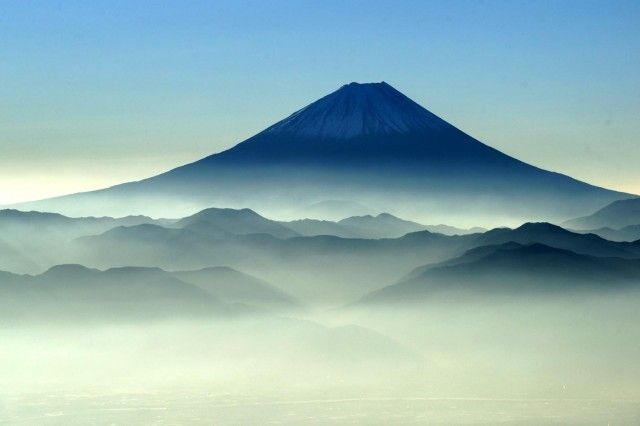 Mt.Fuji. Pretty sure my dads climbed this... And promised to take me. Hmmm