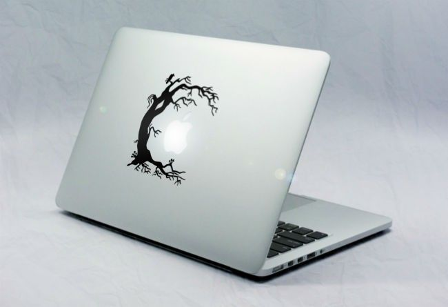 Sticker Macbook Arbre