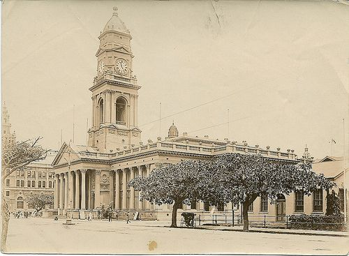 1915c Old Town Hall now Post Office, Durban