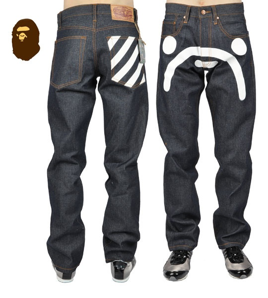 Picture 1 -  #Bape jeans for men.