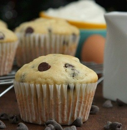 Chocolate Chip Yogurt Muffins | Simple Dish | Quick, Easy, & Healthy Recipes for Dinner