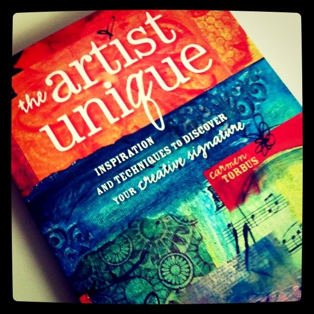 The Artist Unique.  Love this pic of my new book!  (photo taken by Miranda Hersey)