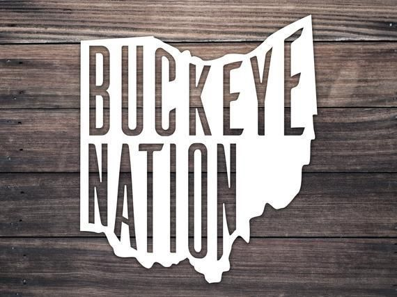 T Shirt Hack In 2020 Buckeye Nation Ohio State Decals Buckeye