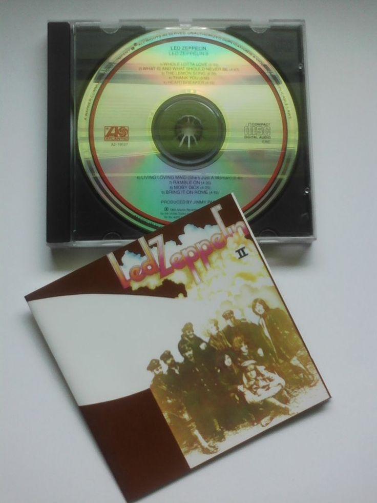 Led Zeppelin II [Remaster] by Led Zeppelin (CD, Atlantic (Label)) #HardRock