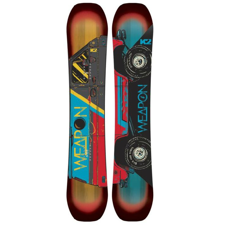 K2 World Wide Weapon Snowboard 2015 | K2 Snowboards for sale at US Outdoor Store