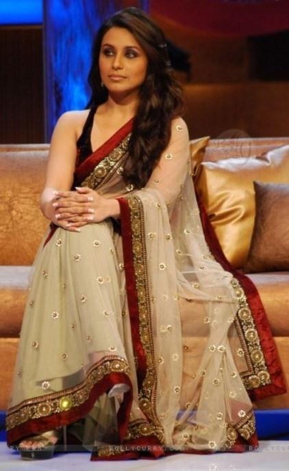 As always, I love her sari
