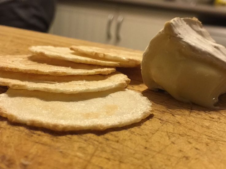 Cheese and Crackers - No filter