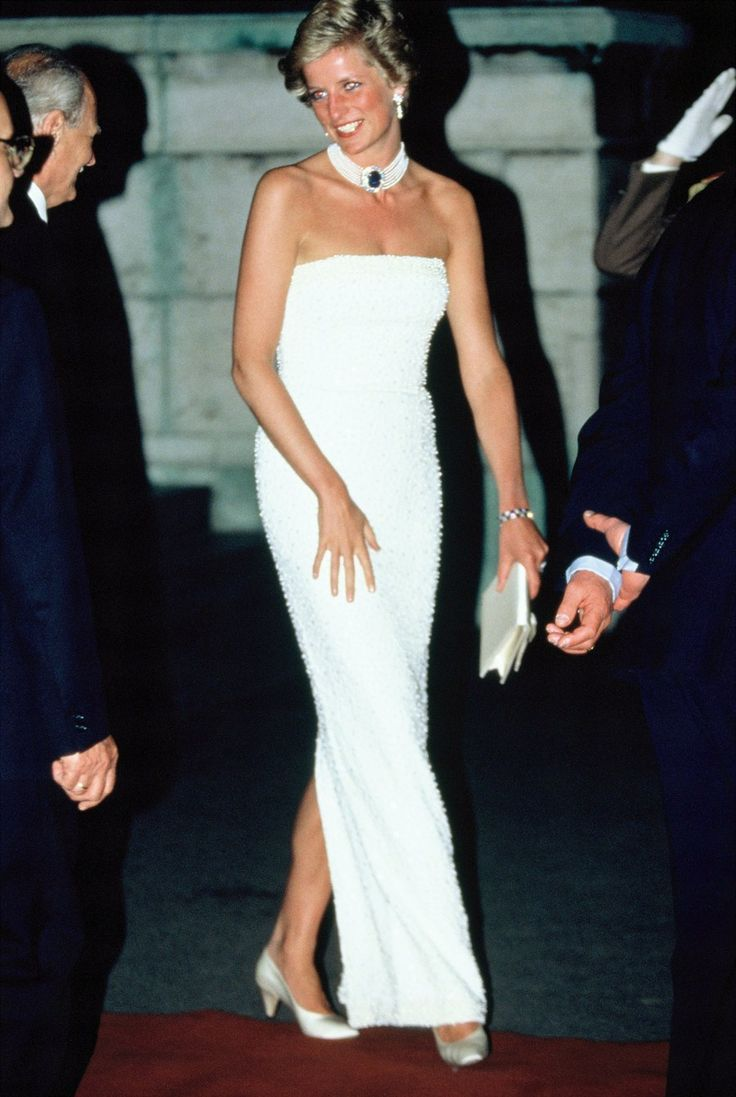 It's hard to believe that Monday, August 31, will mark 18 years since the tragic death of Princess Diana. And while the People's Princess died at the young age of 36, she certainly left her mark on the world and of course, on style. Diana is famous for having fun with fashion. In the '80s is was all about bold colors—fuchsia! cerulean! amethyst!—prints, and the most decadent collection of diamond tiaras, befitting of a princess. Later on in the '90s she went for a sleeker look...