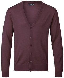 Klassisk cardigan i blød strik-kvalitet. Brug den over en T-shirt for et afslappet look eller over en skjorte for et mere formelt look. Magasin.dk - Køb online'