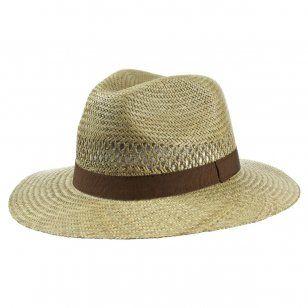 Classic Straw Traveller Hat