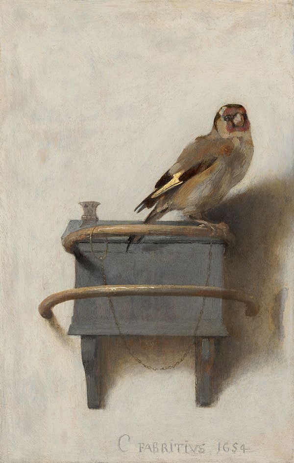 Het meest bekeken en misschien wel beroemdste vogeltje uit de kunstgeschiedenis. En zonder twijfel een van de meest geliefde schilderijen in de collectie van het Mauritshuis.