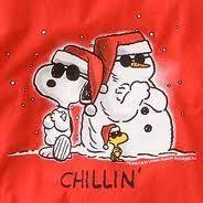 snoopy snowman -