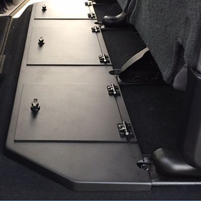 ESP Truck Accessories | Tundra CrewMax Rear Storage Unit