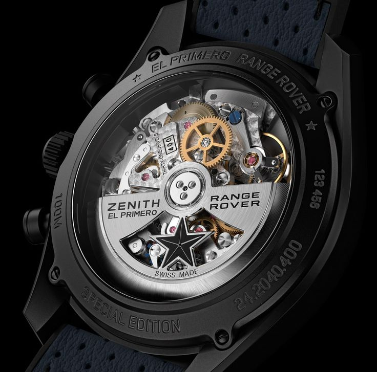 Zenith El Primero Range Rover Watches Debut Official Relationship With Land Rover