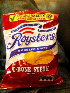 Roysters T-Bone Steak bubbled crisps