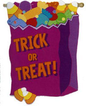 halloween tricks at the door