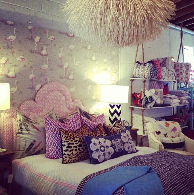 Girly Bedroom Decor Pinterest: Girly Room! - PRATELEIRAS DE CORDA