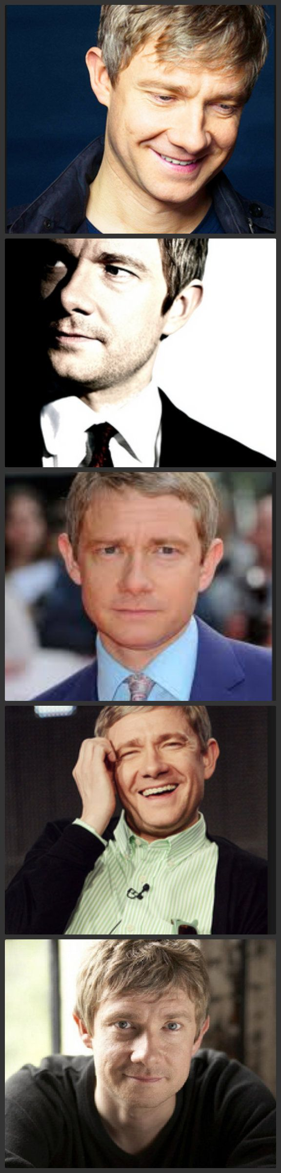 """""""Is it my imagination, or is Martin Freeman getting sexier?"""" — I've been wondering the same thing lately."""