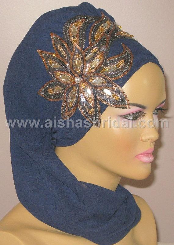 Ready To Wear Hijab  Code HT0119 by aishasbridal on Etsy, $31.82