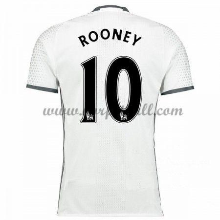 Billige Fotballdrakter Manchester United 2016-17 Rooney 10 Tredje Draktsett Kortermet