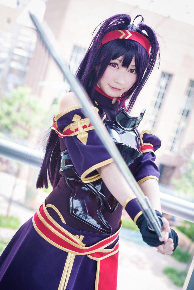 Lana rain cosplaying asuna sword online fuckmachine show - 1 1